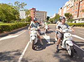 Rent a Scooter - Basic Insurance, Madrid
