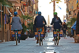Historical Bike Tour, Barcelona