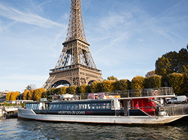 Seine Sightseeing Cruise, Paris