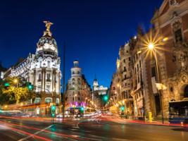 Madrid Night Tour with Optional Flamenco Show, Madrid