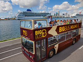 Special Discount Offer: Big Bus Miami Hop-on Hop-off Tour, Miami Area - FL