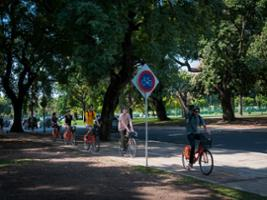 Bike Ride to Tigre, Buenos Aires