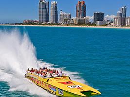 Thriller Miami Speedboat Adventure, Miami Area - FL