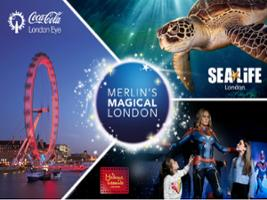 London Big Ticket: London Eye + Sea Life London + Madame Tussauds, London