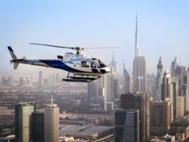Helicopter Tour with Return Transfers, Dubai