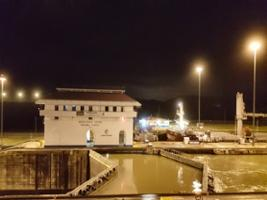 Dinner at the Panama canal and panoramic tour of the Causeway, Panama City