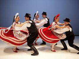Hungarian Dance Performance with tranfer, Budapest