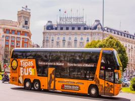 Special Discount Offer: Madrid City Highlights Bus Tour with Authentic Tapas, Madrid