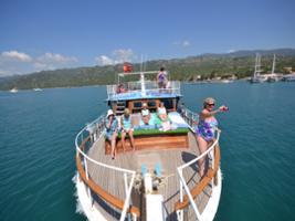 Boat Trip Over a Sunken City at Kekova, Kalkan