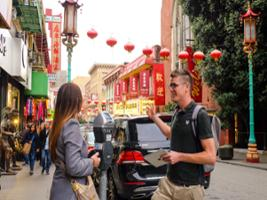 Union Square to Fisherman's Wharf Walking Tour - In French, San Francisco Area - CA