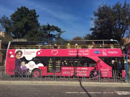 I Love Rome: Panoramic Rome Open Top Bus Tour, Rome