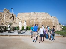Caesarea, Haifa, Acre, Rosh Hanikra, Tel Aviv