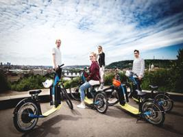 Panoramic E-Scooter Tour, Prague