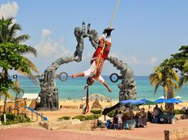 Non Refundable Offer: Tulum + Swim in a Cenote and Visit to Playa del Carmen, Cancun (and vicinity)