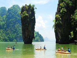 Phang Nga by Long Tail Boat, Phuket