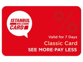 Istanbul Welcome Card - Classic, Istanbul