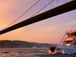 A Sunset Cruise on the Bosphorous, Istanbul