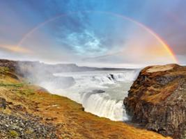 Golden Circle and Glacier with Transfers, Reykjavik