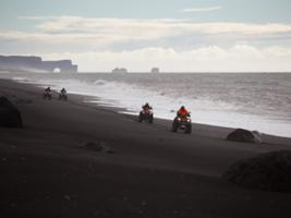South Coast and Black beach ride with audio guide, Reykjavik