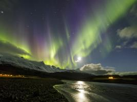 South Coast and Northern Lights with Audioguide, Reykjavik