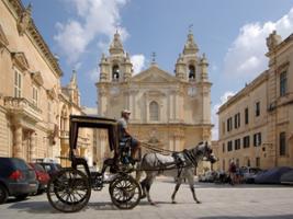 Private Guided Tour to Mdina, Ta Qali Crafts Village and Mosta, Malta