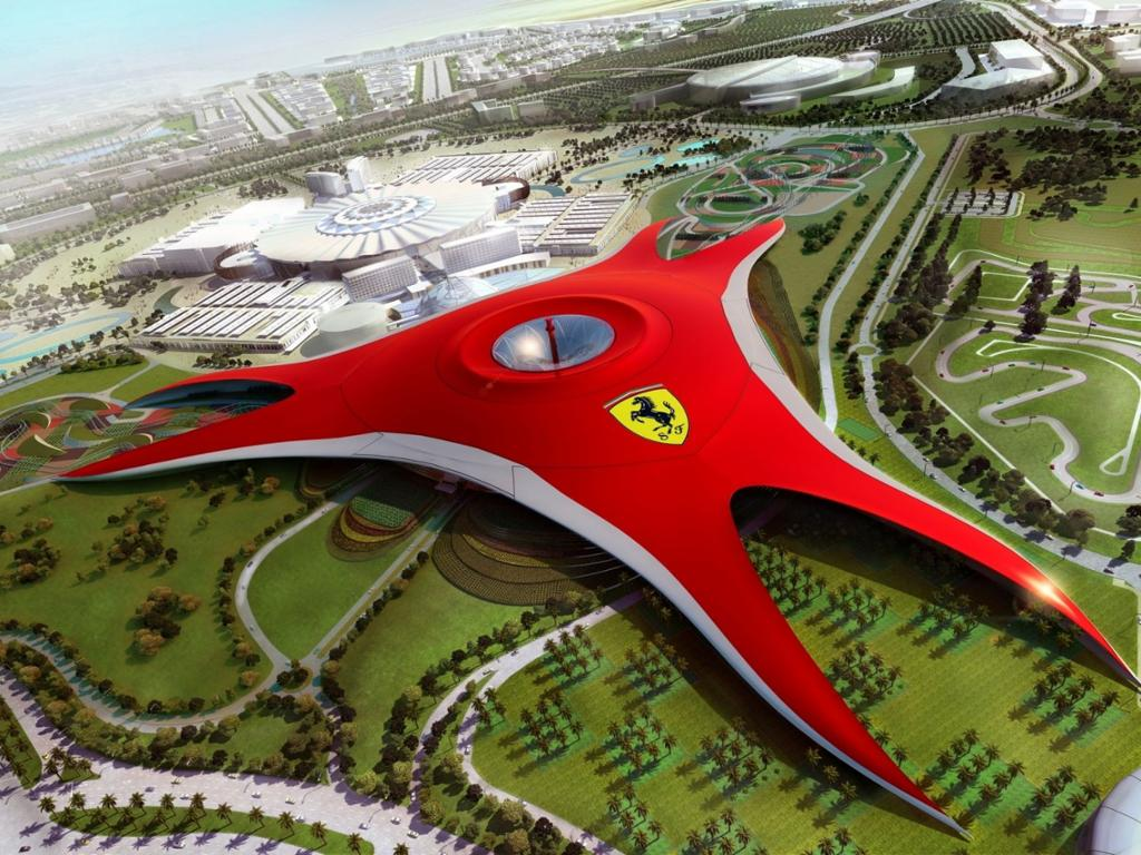 Ferrari World Abu Dhabi - 1 Day / 1 Park