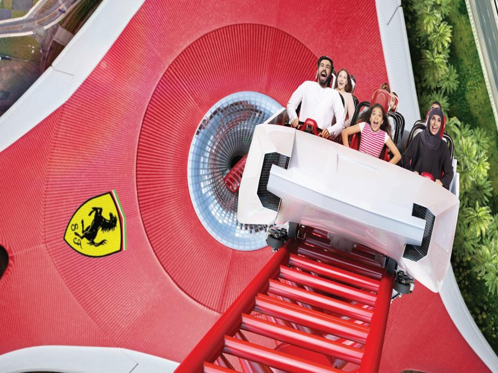 Yas Island - 1 Day Any 2 Parks - Ferrari World, Yas Waterworld or Warner Bros.