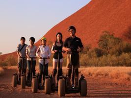 Quarter Uluru Segway & Sunset, Uluru-Ayers Rock - NT