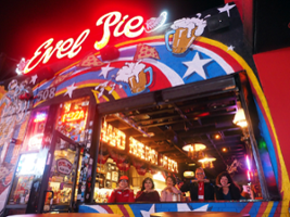 Neon Happy Hour and Fremont Street Experience, Las Vegas - NV