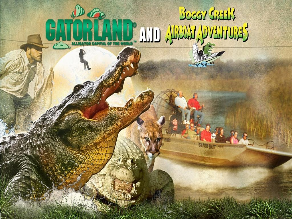 Combo: Gatorland + Boggy Creek