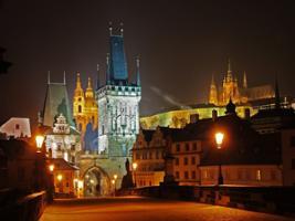 Evening View Walk, Prague