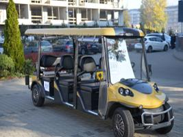Krakow Old Town Tour and Jewish District by Golf Eco Car, Krakow