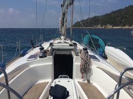 A Day at Sea by Sailboat, Ibiza