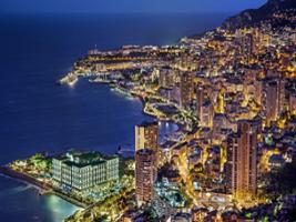 Monaco and Monte-Carlo by Night from Nice, Nice