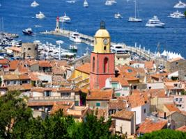 Full Day Excursion to Saint Tropez with a Boat Cruise, Nice