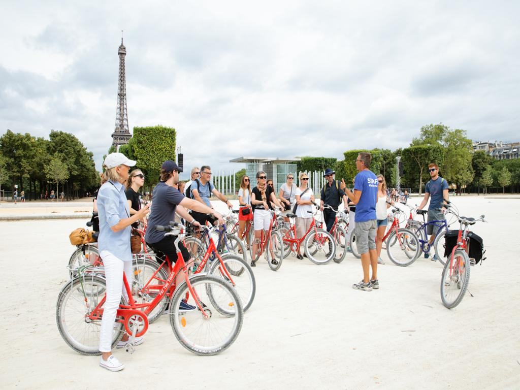 Paris Day Bike Tour