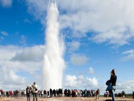 Golden Circle and Secret Lagoon Small Group Tour, Reykjavik