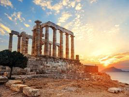 Sounio Sunset plus Athens by Night, Athens