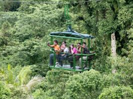 Braulio Carillo Park: Aerial Tram Tour with transfer from San Jose, San José / Central Valley