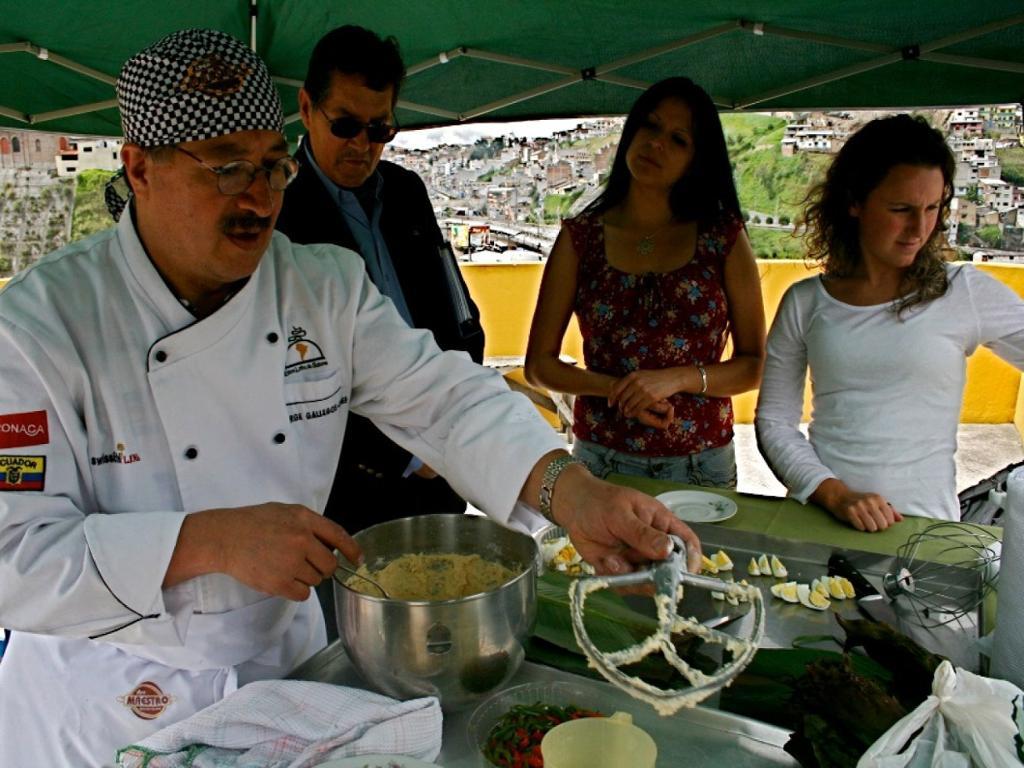 Experiência gastronômica em Quito