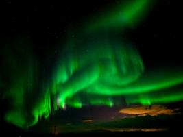Magical Northern Lights Minibus Tour with Free Photos, Reykjavik