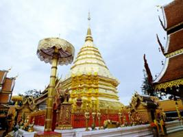 Doi Suthep and Hmong Hill Tribe Village, Chiang Mai