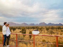 Kata Tjuta Sunrise & Valley of the Winds, Uluru-Ayers Rock - NT