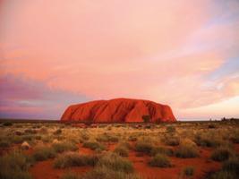 Uluru Sunset, Uluru-Ayers Rock - NT