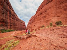 Kata Tjuta Sunset, Uluru-Ayers Rock - NT