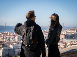 Follow the 28 Tram Private Tour on a Eco Tuk Tour, Lisbon