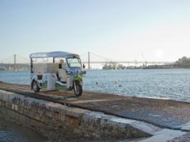 Go West Belém Private Tour on a Eco Tuk Tour -, Lisbon
