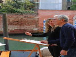 Watercolors in Venice: painting class with famous artist, Venice (and vicinity)