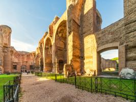 3-hours Bike Rental with Tickets to Baths of Caracalla, Rome